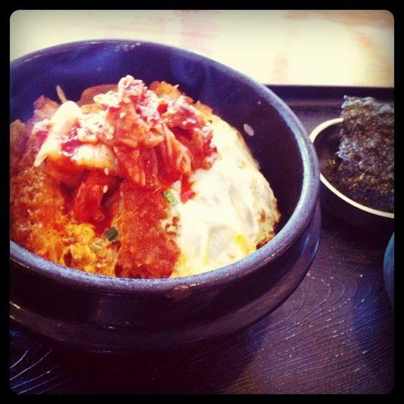 韓国かつ丼と波乗り
