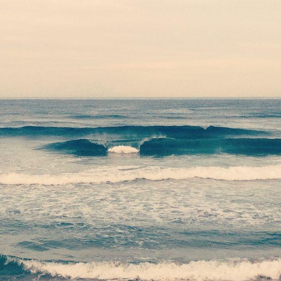 最近は波がいいよ☆